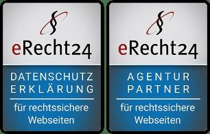 Logo: Marcello Lang ist eRecht24 Agentur-Partner